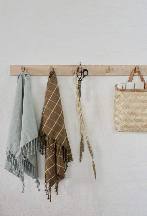 WOODEN COAT RACK