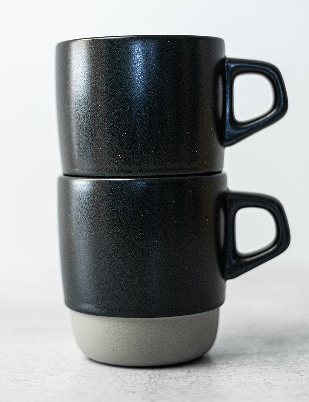 STACKING PORCELAIN MUG