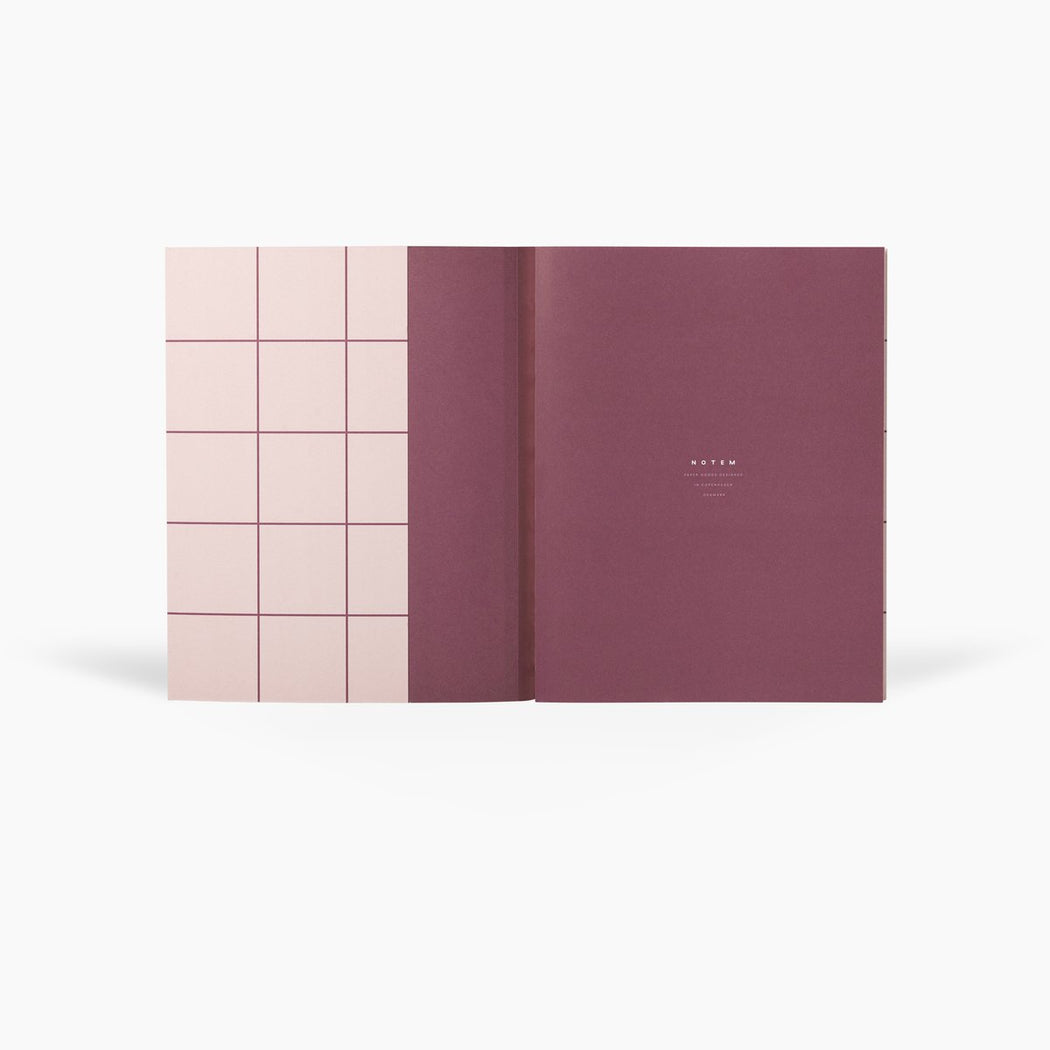 UMA LARGE NOTEBOOK - ROSE