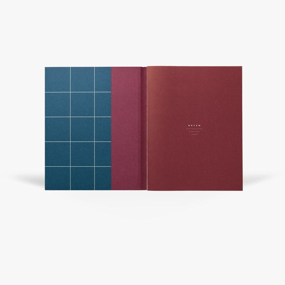 UMA LARGE NOTEBOOK - NAVY