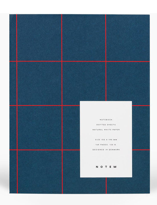 UMA MEDIUM NOTEBOOK - NAVY