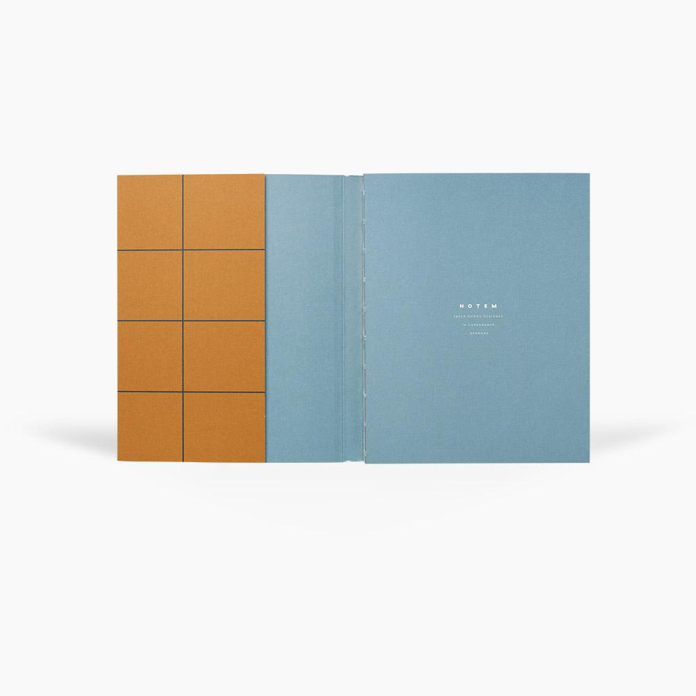 UMA MEDIUM NOTEBOOK - OCHRE