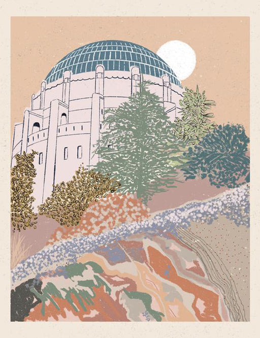 Griffith Observatory Print
