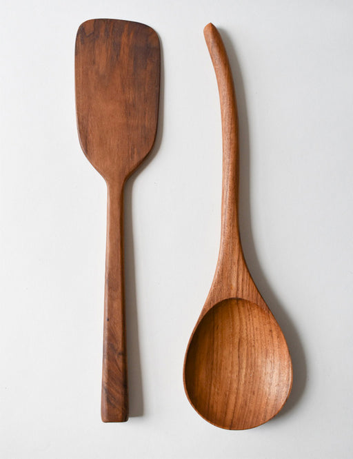 TEAK KITCHEN TOOLS