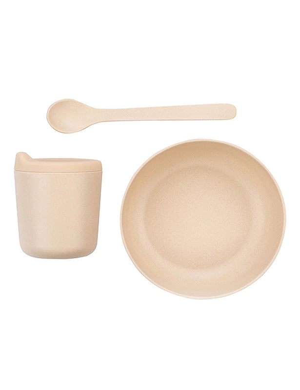 BABY BAMBOO DINING SET - BLUSH