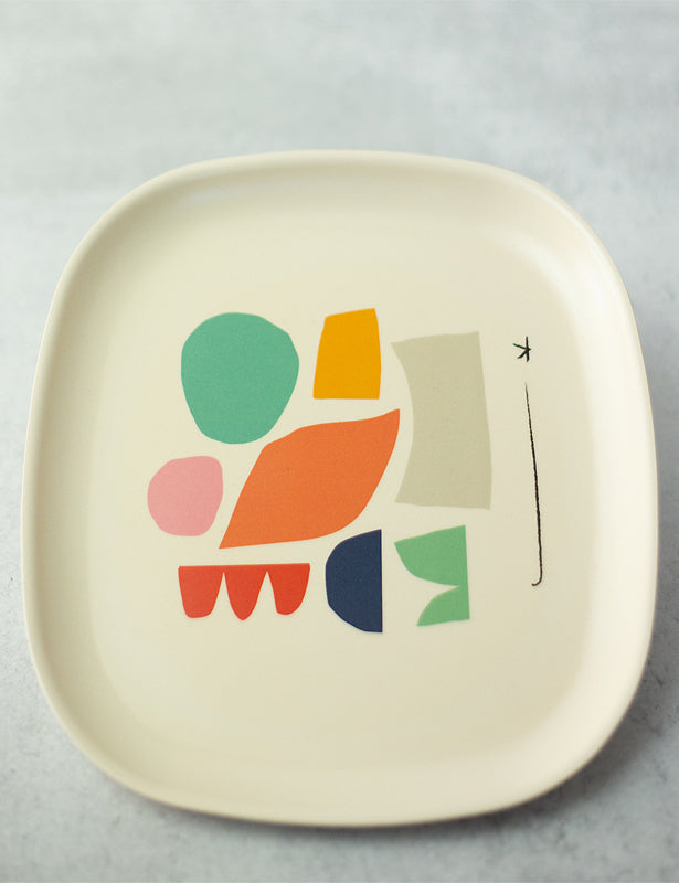 ILLUSTRATED MEDIUM PLATE SET