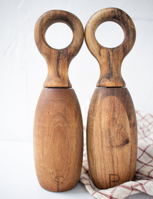 WOOD SALT & PEPPER MILLS