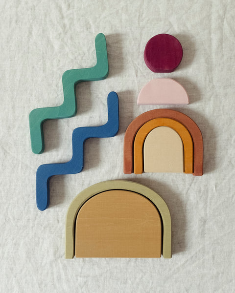 Shapes blocks