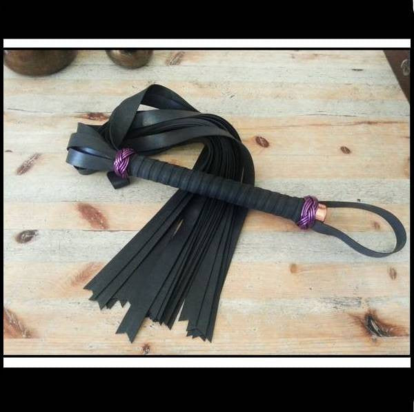 Wrapped Thuddy Rubber Flogger
