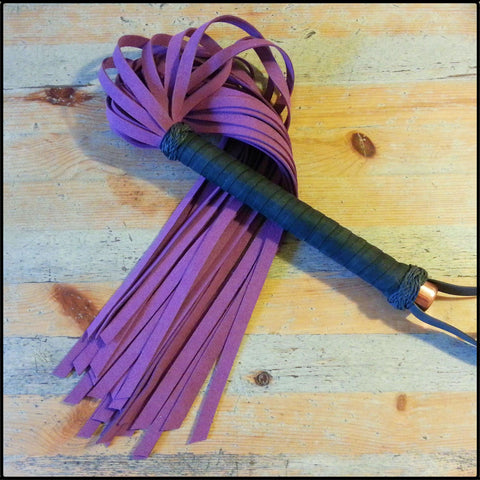 Medium Premium Faux Suede Flogger