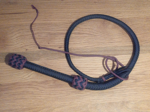 5 Foot Paracord Bull Whips