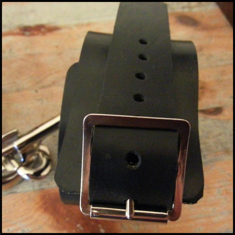 Reinforced Rubber Ankle Cuffs