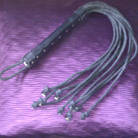 6mm Black Jute Cat of Nine Tails