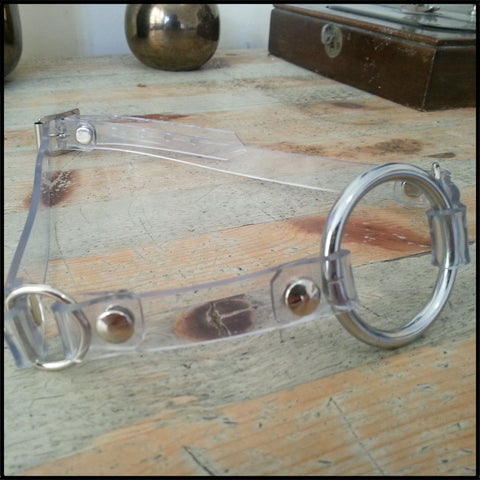 Clear PVC Ring Gag