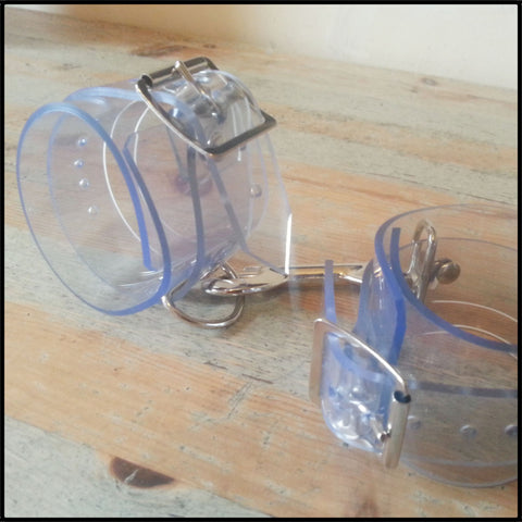 Clear PVC Ankle Cuffs