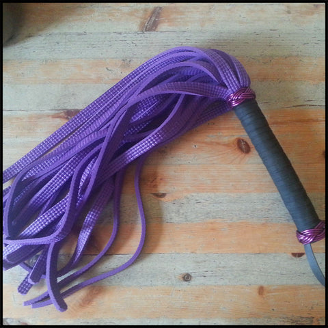 Purple Thuddy Yoga Mat Flogger