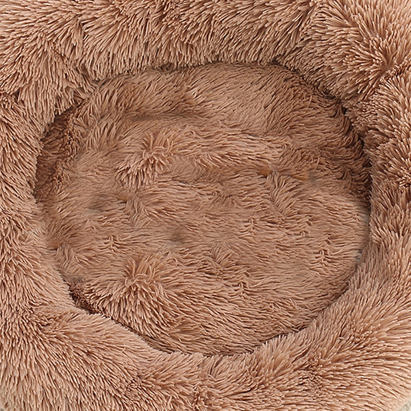 PaWz Pet Bed Mattress Dog Beds Bedding Cat Pad Mat Cushion Winter S Brown