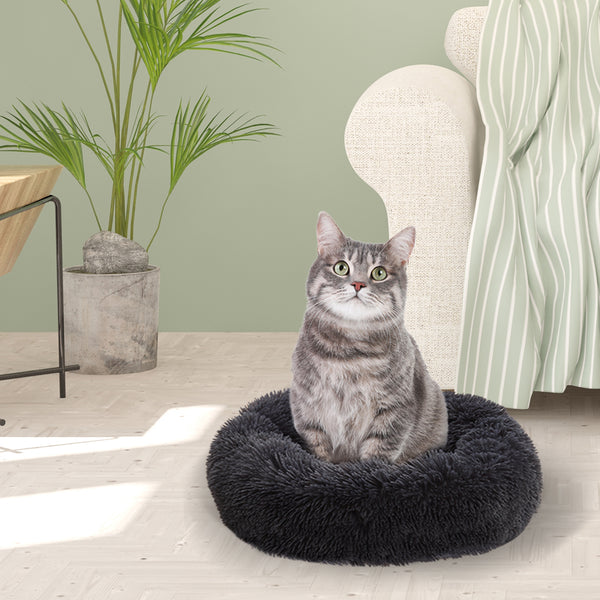 PaWz Pet Bed Dog Beds Mattress Bedding Cat Pad Mat Cushion Winter M Dark Grey