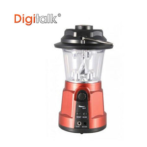 Portable Lantern Dynamo LED FM Radio and Built-In Compass USB Charge Camping