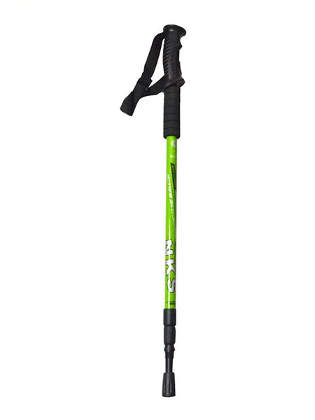 Nordic Walking Poles 135cm (53 Inches) 3 Sections Simple Durable Tungsten Aluminum Alloy Camping & Hiking Outdoor