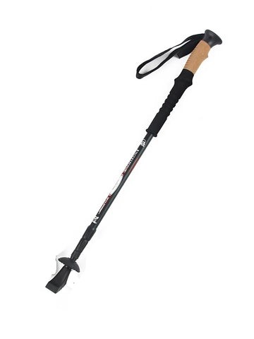 Nordic Walking Poles 135cm 3 Sections Simple Durable Aluminum Alloy 7075 Camping / Hiking Outdoor