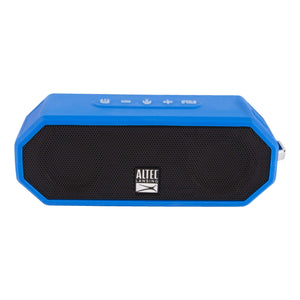 Altec Lansing Jacket H20 4 Blue - EVERYTHING PROOF Rugged & waterproof Bluetooth speaker (10 hrs Battery / 2000mAh)
