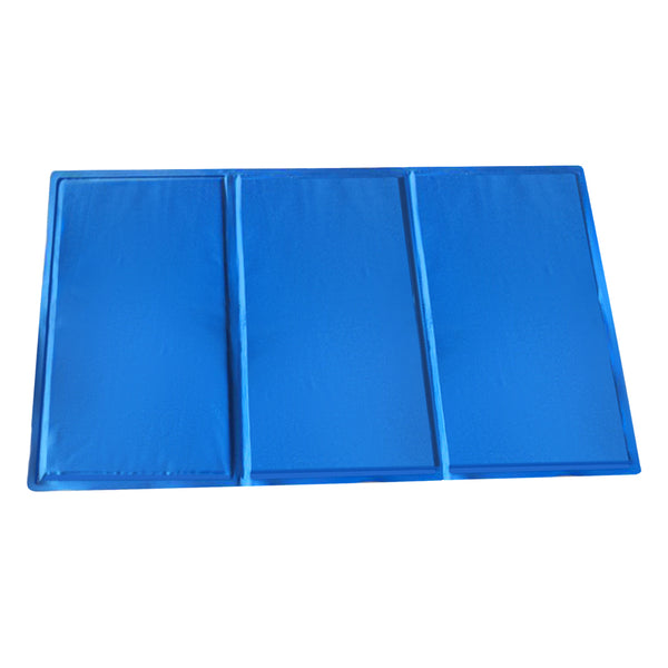 PaWz Pet Cooling Mat Gel Mats Bed Cool Pad Puppy Cat Non-Toxic Beds Summer Pads 90x50