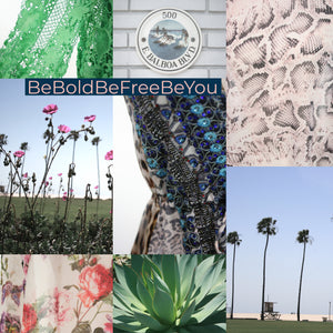 Be Bold Be Free Be You collage of photos