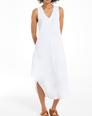 White Reverie Midi Dress