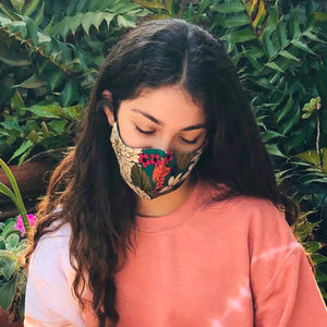 Wellness Reversible Chrysanthemum Mask