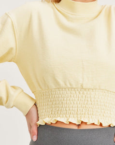 Hello Sunshine Cropped Pullover