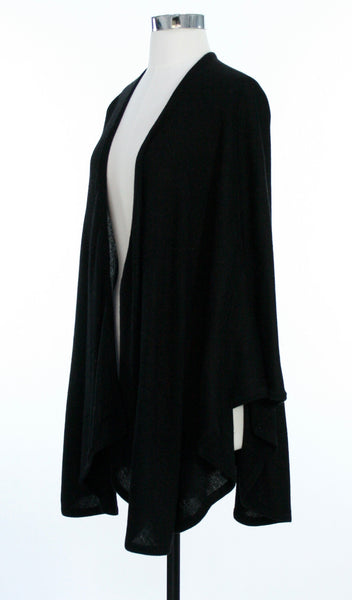 cashmere cape side view