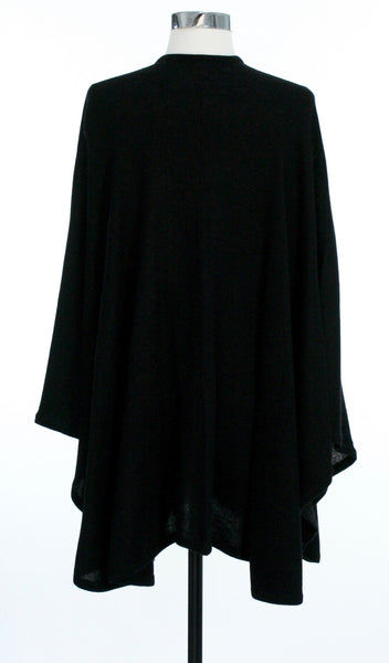 cashmere cape back view
