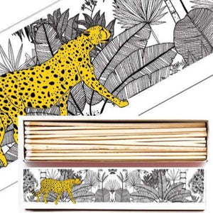 Cheetah in the Jungle Long Matchbox