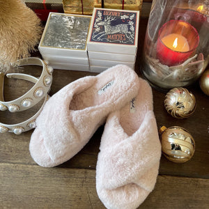 Spa Day Faux Fur Slipper