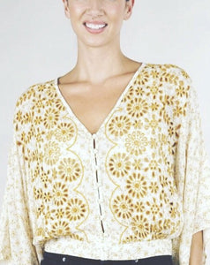 The Embroidered Sunshine Blouse
