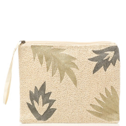 Handmade Palm Clutch