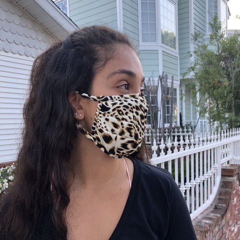 Wellness Leopard Fashion Mask