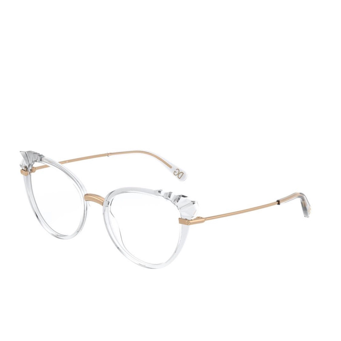 Dolce & Gabbana Crystal Cat Eye RX