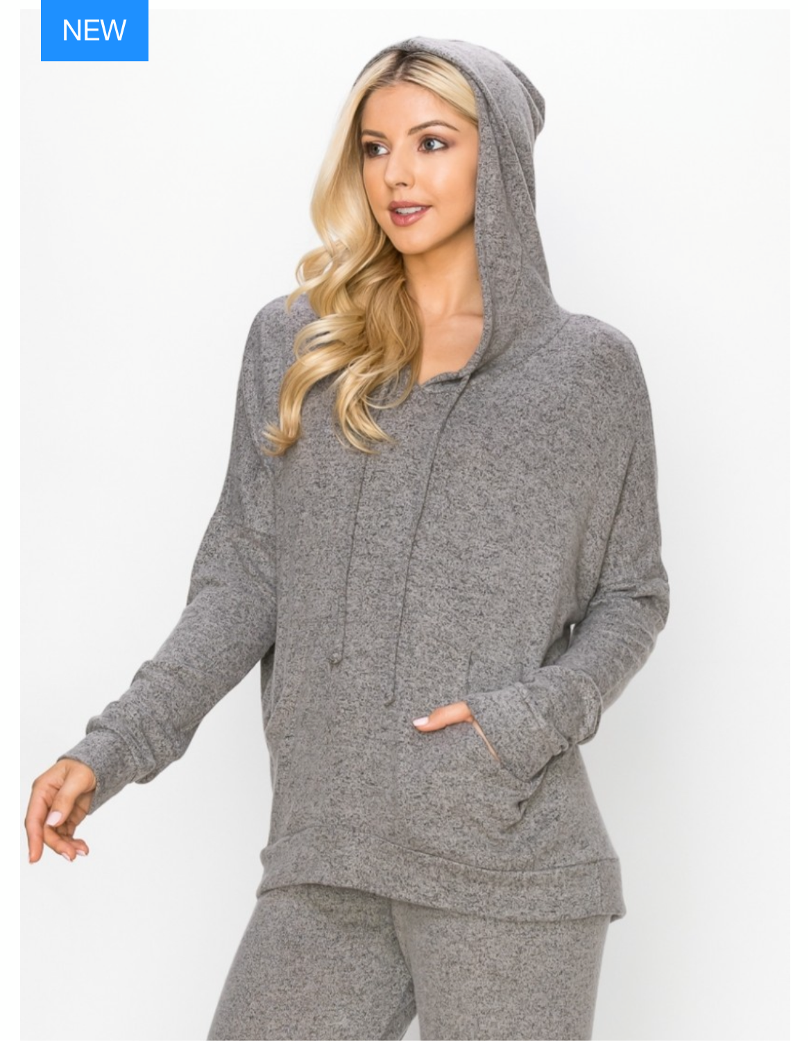 The World's Softest Hoodie -Heather Gray