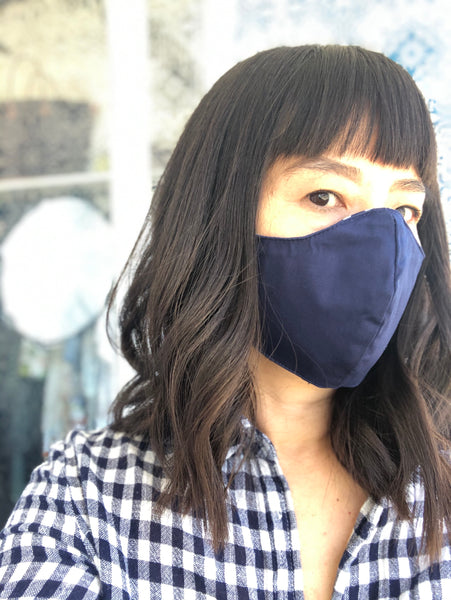 Wellness Reversible Gingham Mask
