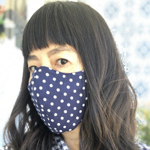 Wellness Reversible Petite Dot Mask