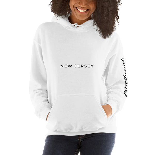 New Jersey Hoodie (White)