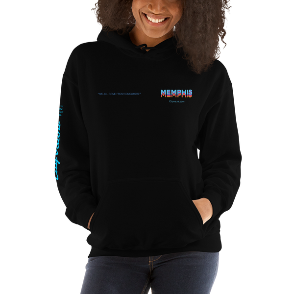 We All Come From Somewhere Hoodie: Memphis