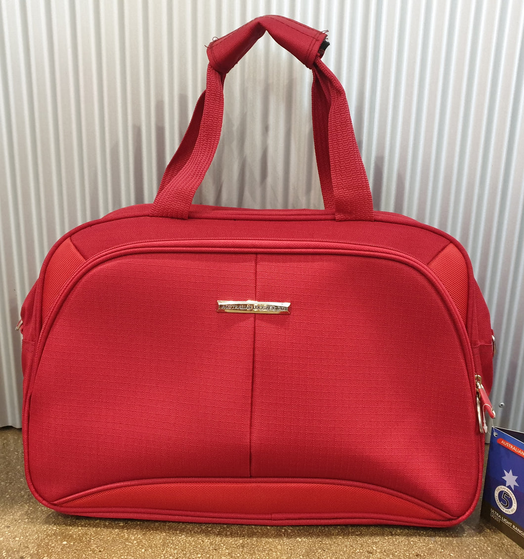 The Australian Luggage Co Ultra Light Range Of On-Board 45CM Tote - 0.23KG - Red - LW201