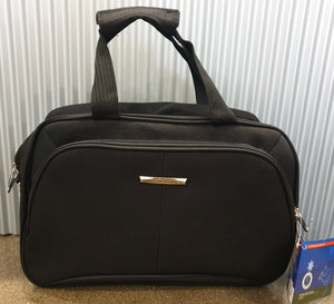 The Australian Luggage Co Ultra Light Range Of On-Board 45CM Tote - 0.23KG - Black - LW201