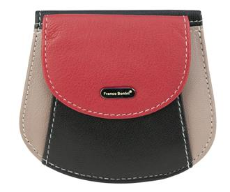 Franco Bonini Leather Small Wallet RFID Protected
