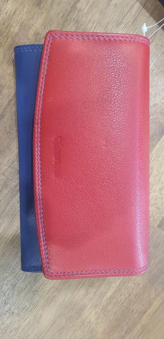 Giannotti Ladies RFID Leather Clasp Wallet