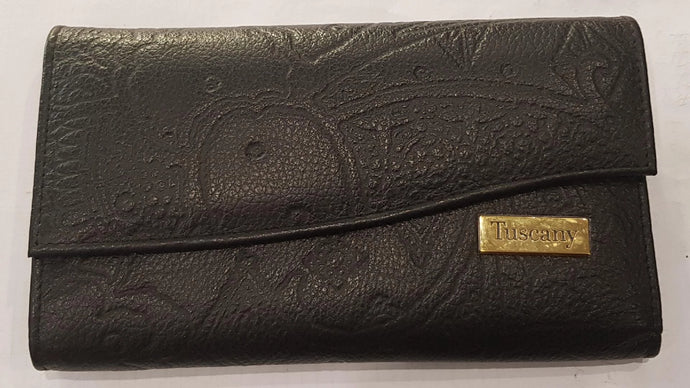 Tuscany Chez Embossed RFID Wallet SCI279