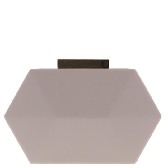 OPAL Hexagon Box Clutch